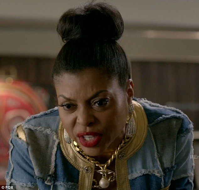 Hostile takeover: Cook Lyon, played by Taraji P. Henson, attempted a hostile takeover on Wednesday season premiere of Empire on Fox