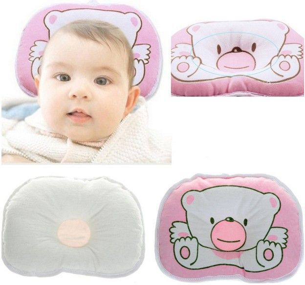 Newborn Baby Infant Head Rest Support Pillow New Prevent
