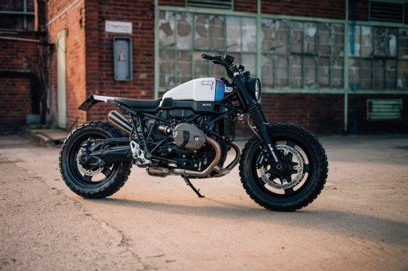 Customizer JvB-moto baut R nine T Scrambler komplett um