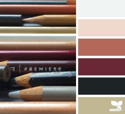 penciled hues