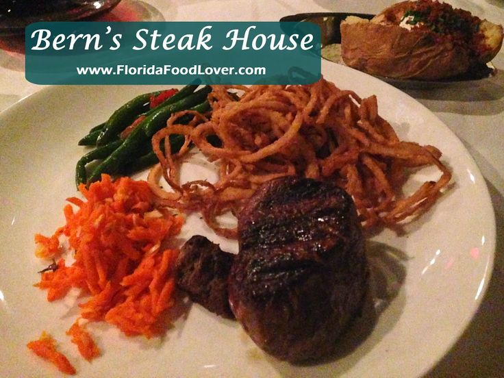 Berns steak house tampa fl florida food food lover