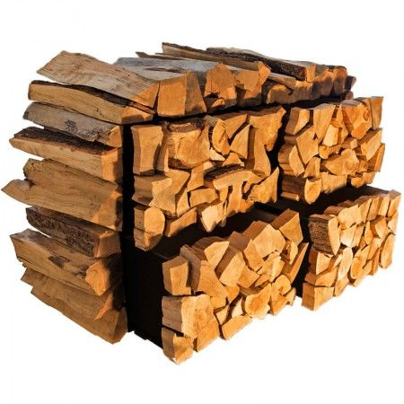 Cabinet that looks like firewood! cool for a patio