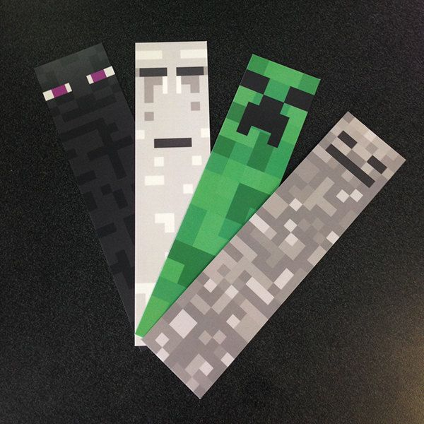 57 best minecraft images on pinterest birthdays for Minecraft bookmark template