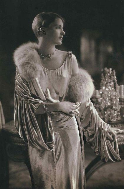 Lee Miller by Edward Steichen, Vogue, 1928