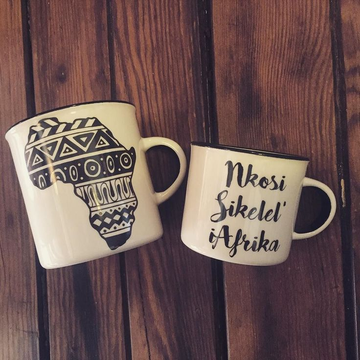 Nkosi Sikelel iAfrika espresso cup and africa coffee cup by Sugar And Vice #aLOCALcollective #PRESENTspace #SugarandVice