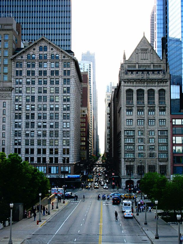 Chicago, Illinois. i miss it sometimes! especially this view!