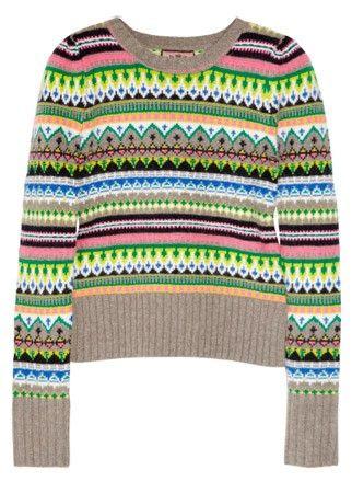 Juicy Couture fair isle jumper, £160