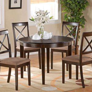 5 piece round kitchen table set