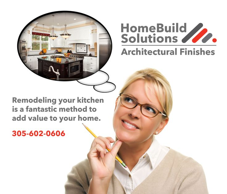 Remodel your kitchen with and add value to your home with HOMEBUILD SOLUTIONS