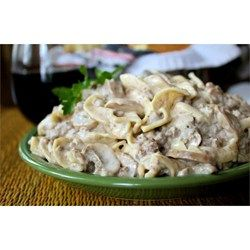 This ground beef Stroganoff is full of flavor, but wallet-friendly and easy enough for a weeknight.