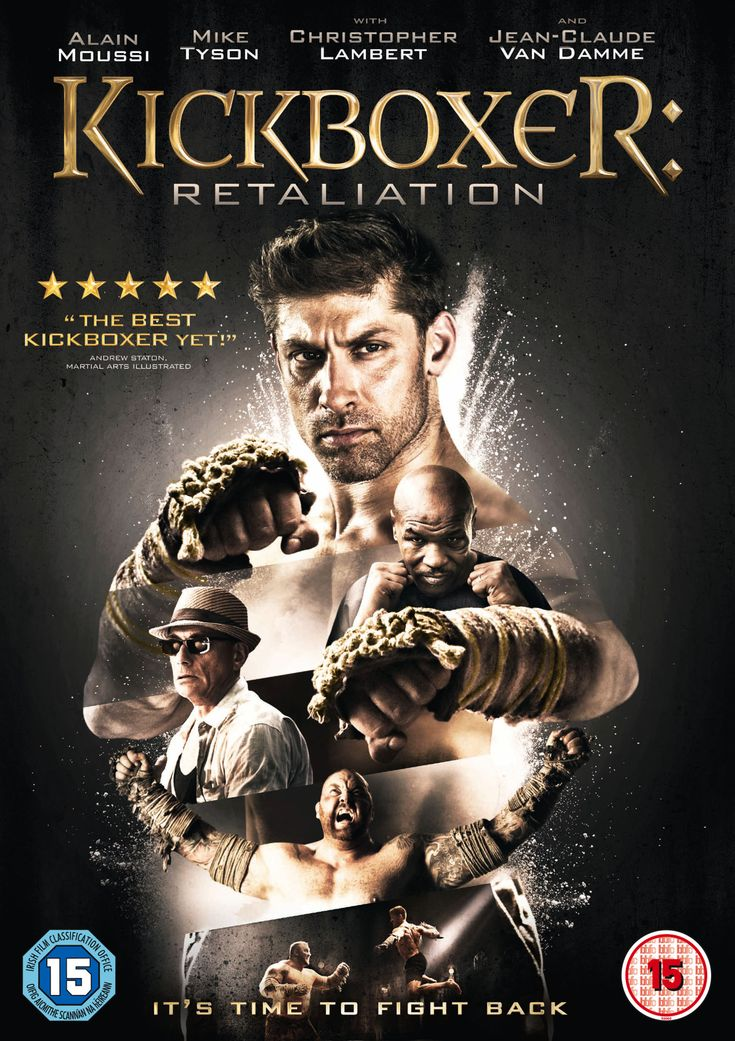 Win a Kickboxer: Retaliation DVD signed by Alain Moussi   Live for Films