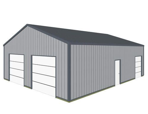 30 39 w x 40 39 l x 10 5 39 h garage at menards garages for Garage roofing options