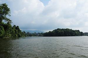 Situ Lengkong Panjalu, Kecamatan Panjalu, Ciamis, Jawa Barat, Indonesia