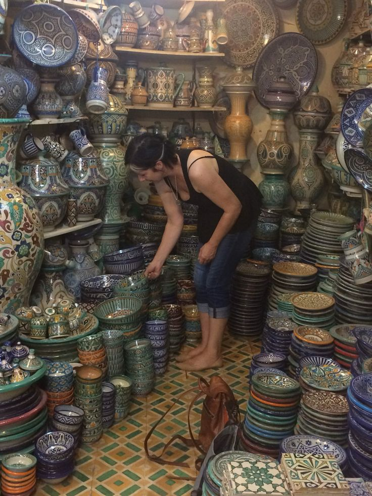 So many beautiful moroccan ceramics to choose from! Inspired Travels. Inspired Tribe.