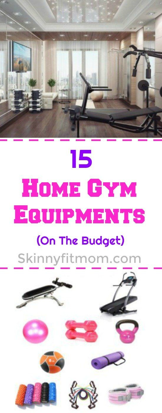 15 Home Gym Equipment on The Budget: keep your pocket safe while setting up your choice gym in your own home