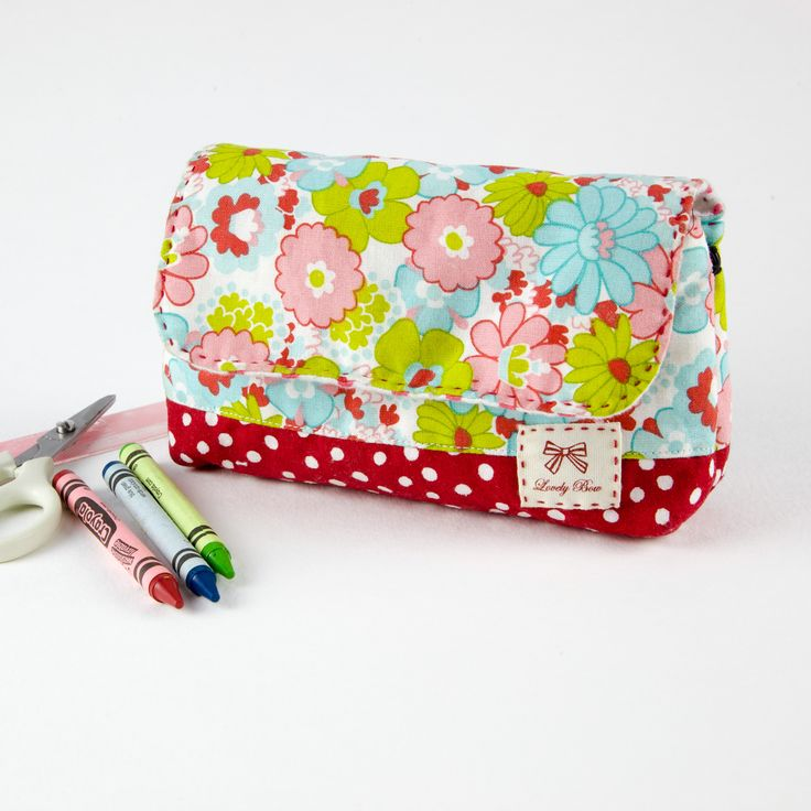 Back to school supply pouch | Minki's Work Table