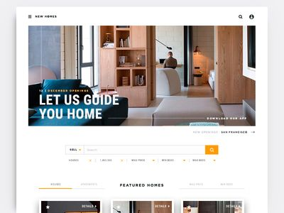 Real Estate Homepage