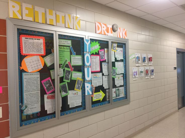 Science Bulletin Board / Rethink Your Drink