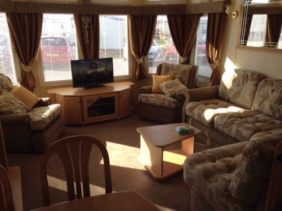 Luxury 3 Bed 8 Berth Caravan For Hire Sited On Por Coastfields Holiday Village Ingoldmells