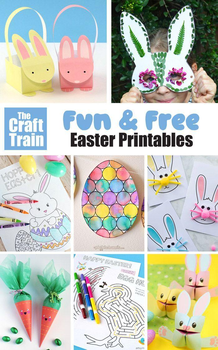 Free Easter Printables For Kids Diy Easter Gifts Easter Printables Free Easter Crafts [ 1124 x 700 Pixel ]