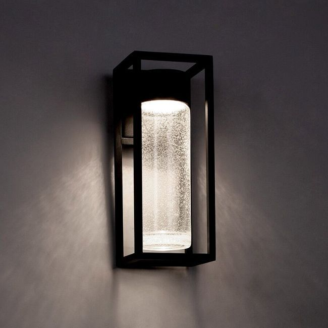 Structure Outdoor Wall Light By Modern Forms Ws W5411 Bk Led Outdoor Wall Lights Exterior Wall Light Outdoor Wall Lighting