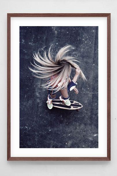 Hair spinning 360