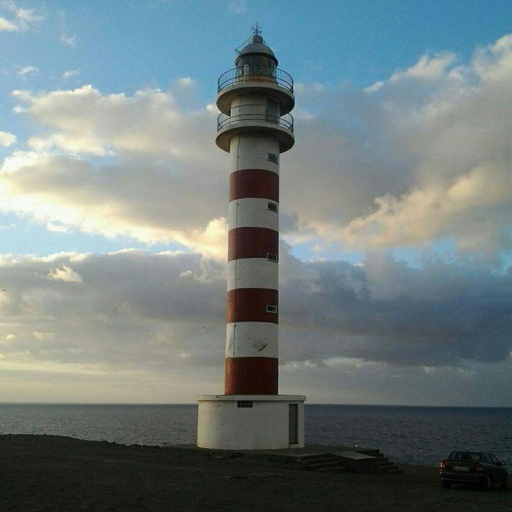 El Faro de Sardina de Galdar Gran Canaria
