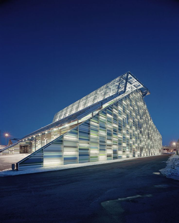 Maritime Centre Vellamo in Kotka, Finland by Architects Lahdelma & Mahlamäki