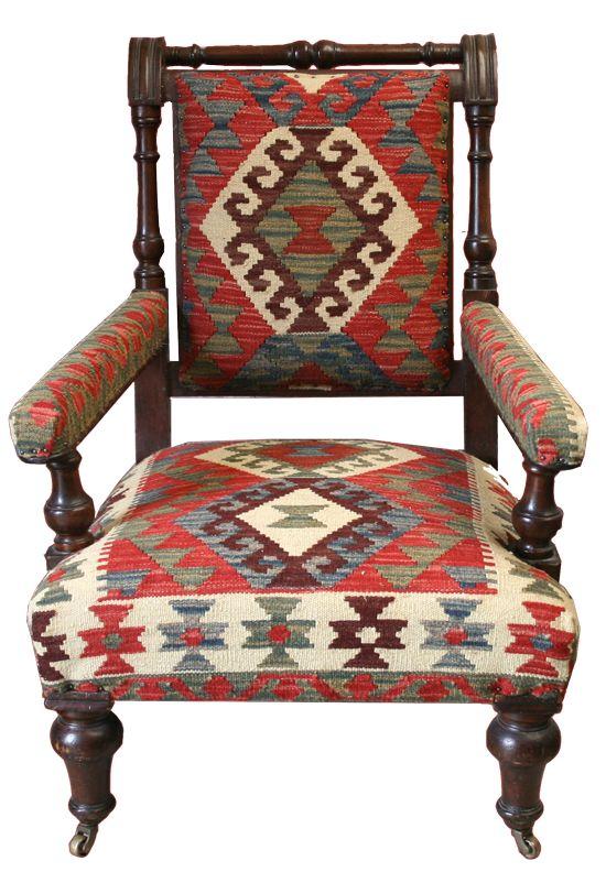 Vintage Kilim Chair