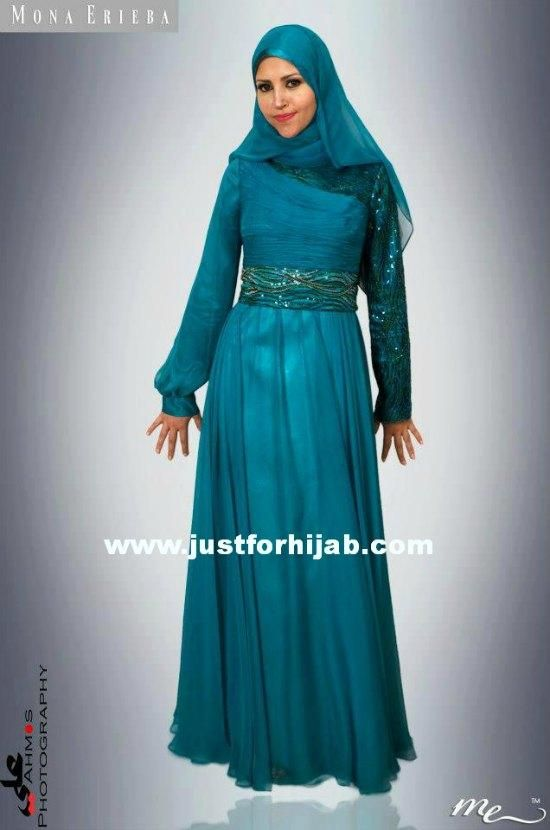 evening dresses for hijab