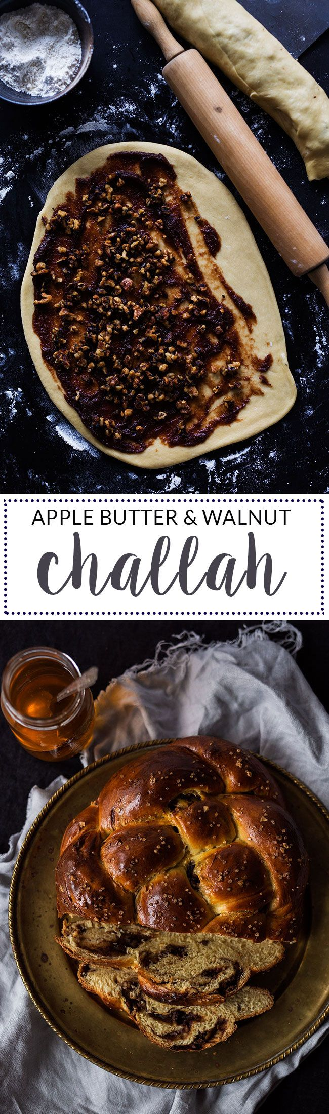 Stuffed challah with apple butter and walnuts: a great recipe for Rosh Hashanah | One Tough Cookie