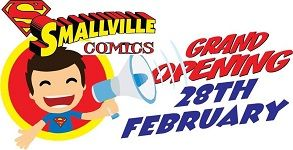 GES-SA was at the opening of the brand new comic book store Smallville Comics 2.0 in New Redruth, Alberton
