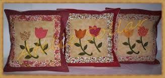 Resultado de imagem para almofadas de patchwork