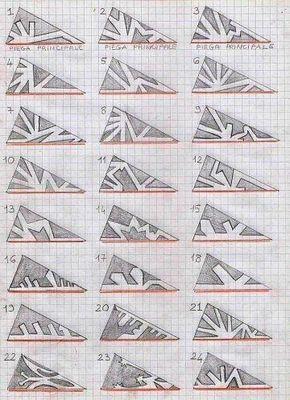 Schneeflocken aus Papier basteln- Anleitung-dekoki…