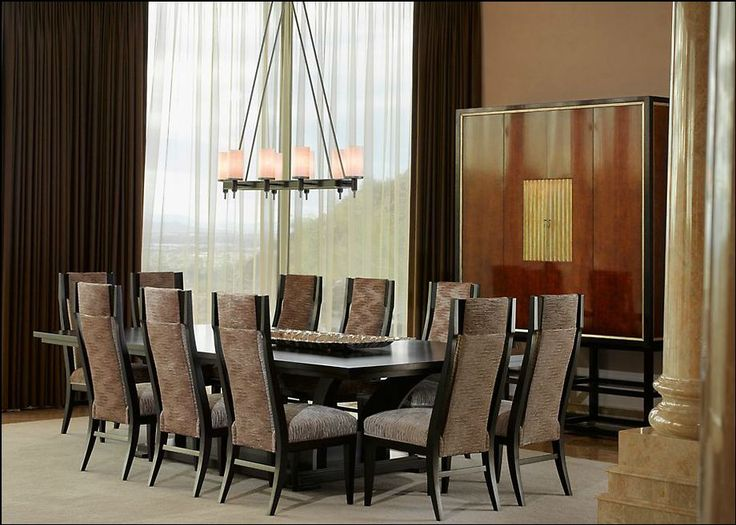 This Elegant, Neutral Dining Room Was Completed By Michael Ferguson  Interiors.