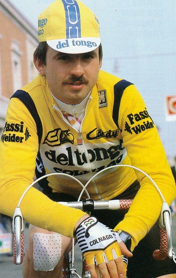 Lech Piasecki, Tour de France 1987.  Photo Credit: Courtesy Marcel Segessemann.