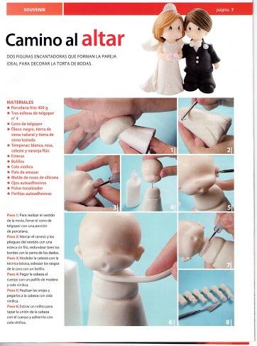 How to make bride & groom #1