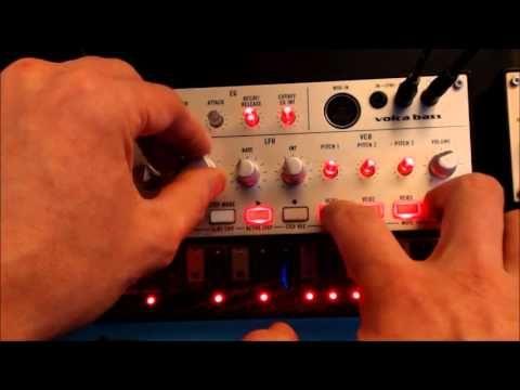Korg Volca Bass Fat Sequence ( Tutorial in link below ) - YouTube
