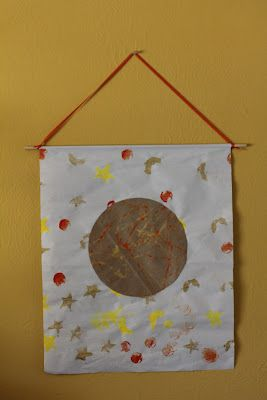 Full Moon Banner: Mid Autumn Moon Festival -Crafts and Ideas for Celebrating with Children