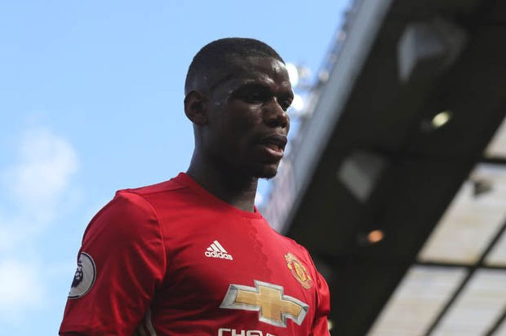Snapped: Paul Pogba has done a very daft thing ahead of Liverpool clash