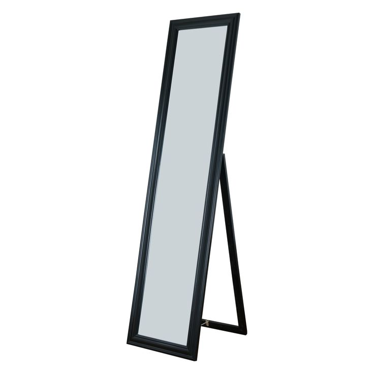 Milton Green Stars Elisabetta Full Length Mirror - 15.75W x 63H in. - 7059-BLACK