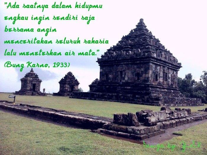 Candi Ijo Prambanan Sleman Yogyakarta Hidup Air Persamaan