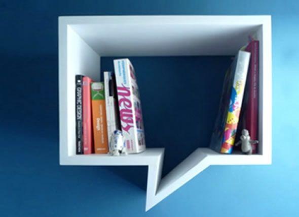 Interior-Decorating-Storage-Shelves-Comic-Shelf #pinhonest