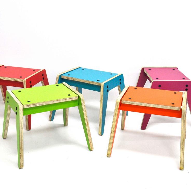 Great colourful design. CNC machined, flat pack, user assembled.