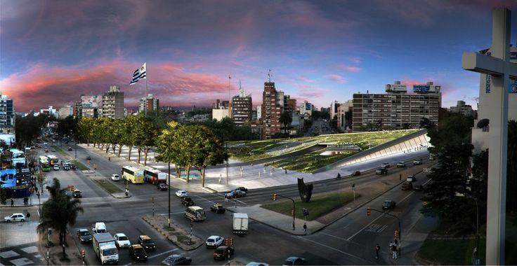Resultados Concurso Plaza de la Democracia en Montevideo