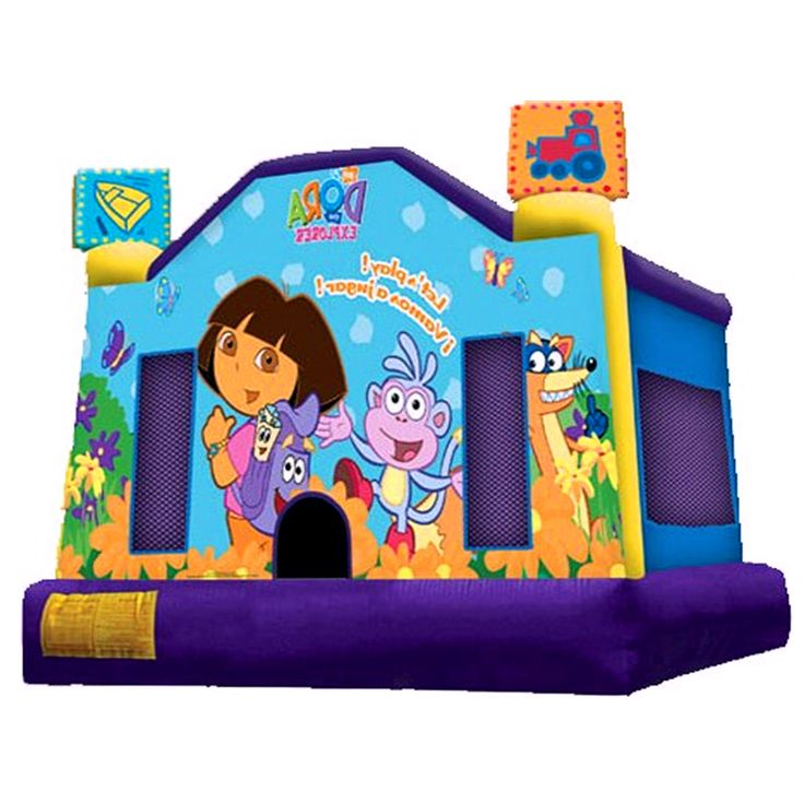 How To Buy Lowprice And Best Dora Bouncy House? Our