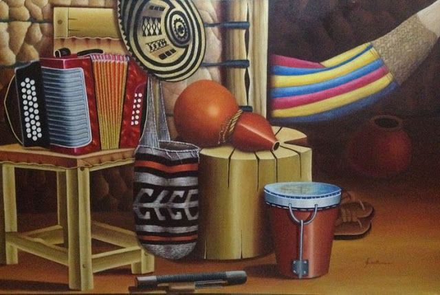 El Museo de Alberto: Cuadros Vallenatos Colombianos