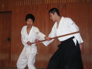 Japanese Traditional Sports Aikido