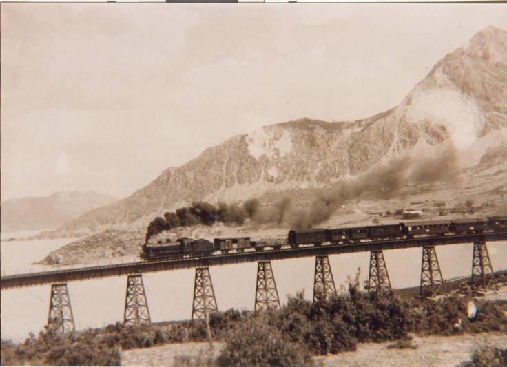 dokuz ayaklı demir köprü (ama burda 8 tane) Eğirdir Isparta Turkey