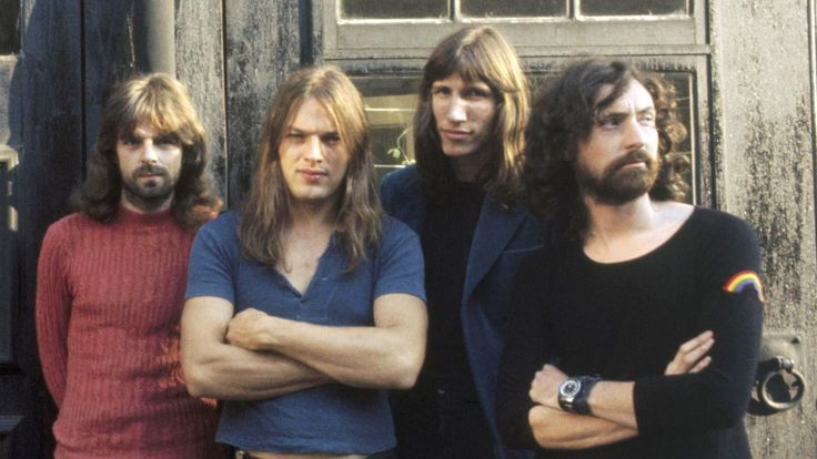 Richard Wright, David Gilmour, Roger Waters, Nick Mason
